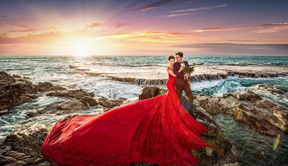 xu hướng chụp hình cưới