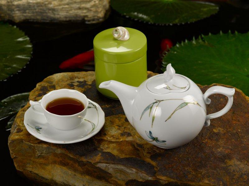 Bộ trà Đài Cát Trang Trí Bạc 1.3L